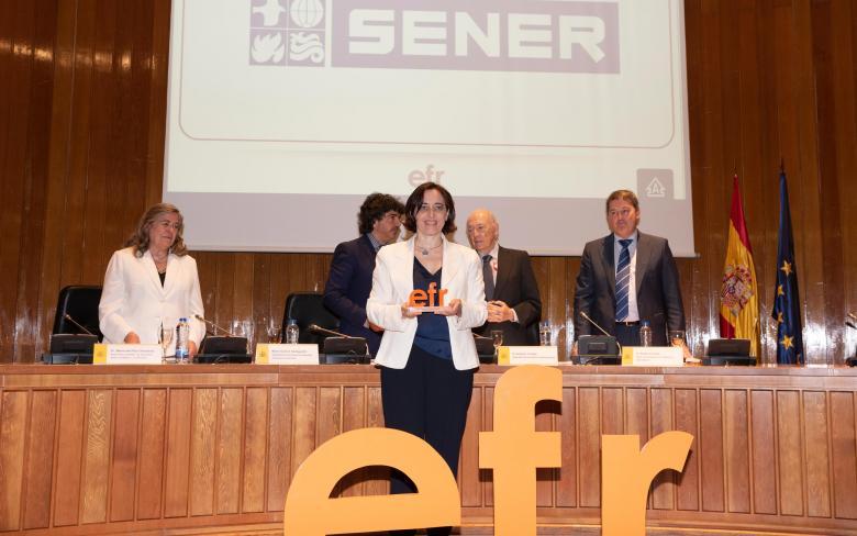 SENER es reconocida como empresa familiarmente responsable EFR de la Fundación MásFamilia