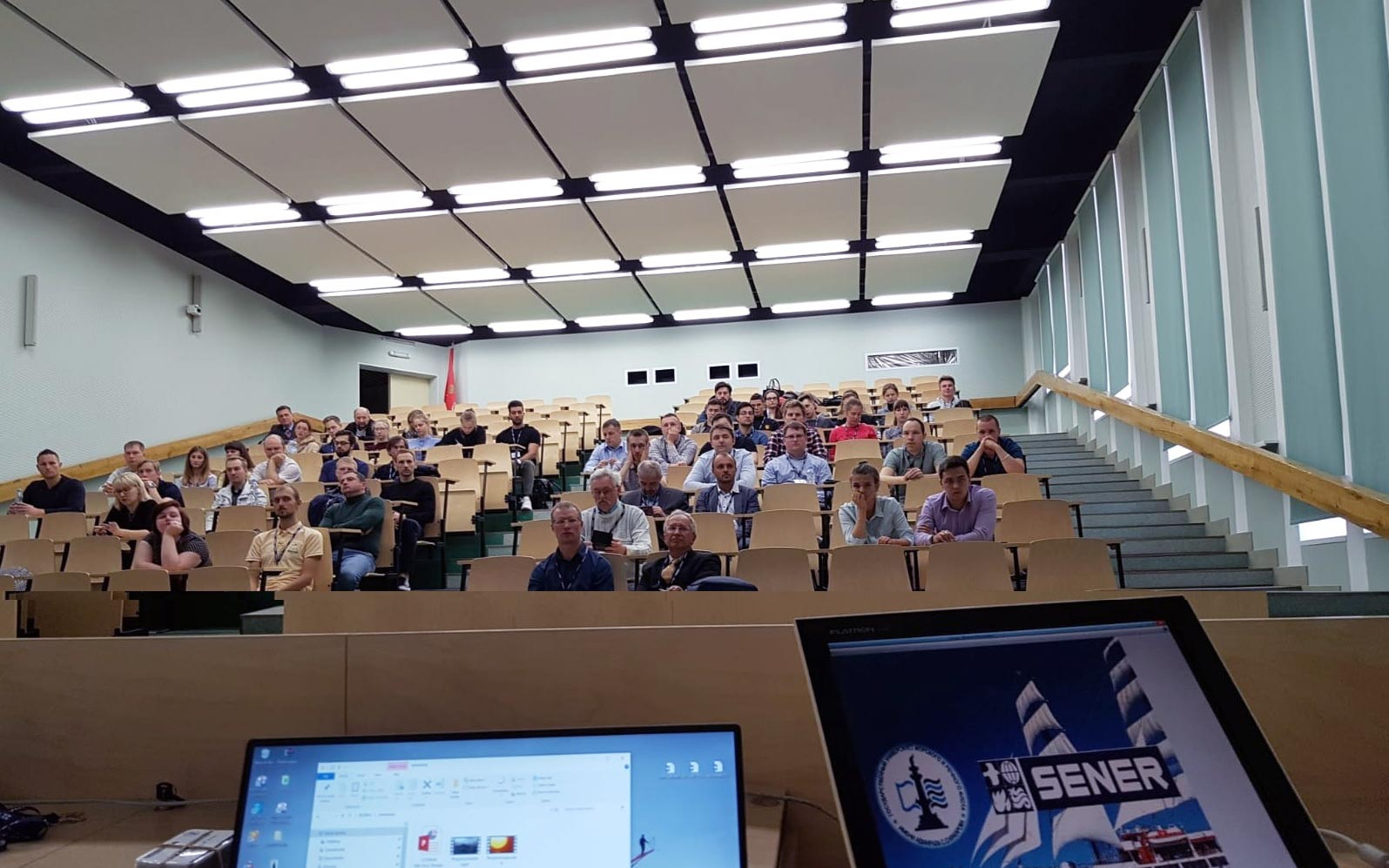 SENER organized a series of FORAN seminars at the Admiral Makarov University of Maritime and Inland Shipping of Saint Petersburg