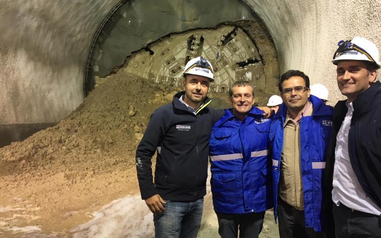 SENER participa en el evento de finalización del túnel Vía derecha del tren de pasajeros ciudad de México -Toluca