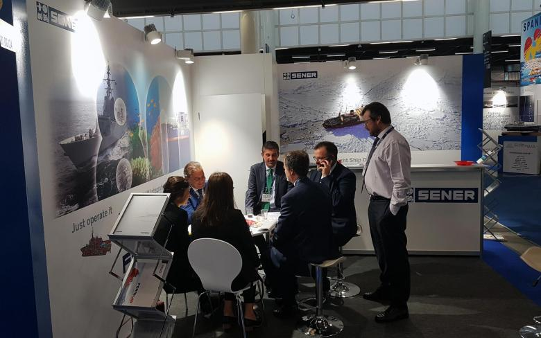SENER presents the new version of FORAN and its latest ship projects at SMM Hamburg