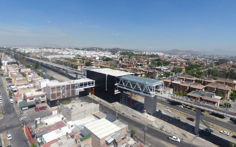 Line 3 Guadalajara Light Rail System in Mexico