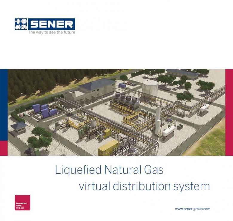 Sistema virtual de distribución de Gas Natural Licuado