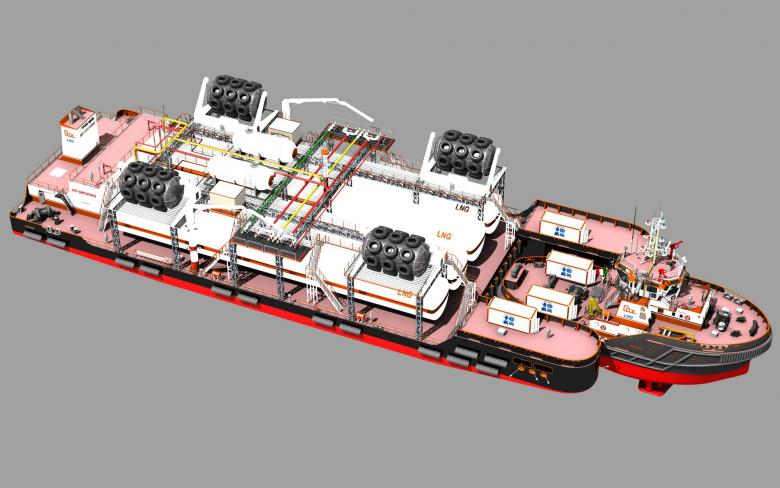 SENER designs an innovative LNG unit for Panfido