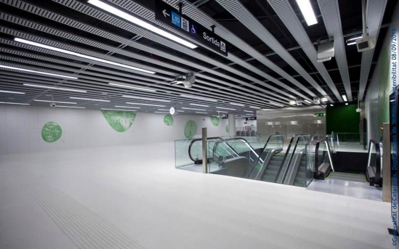 SENER acude a la inauguración de la línea 10 Sur del metro de Barcelona