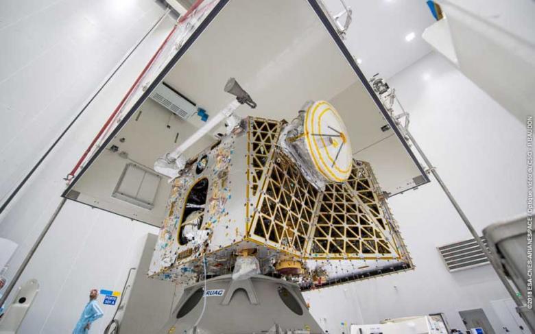 Las empresas del grupo SENER suministran las antenas del satélite BepiColombo