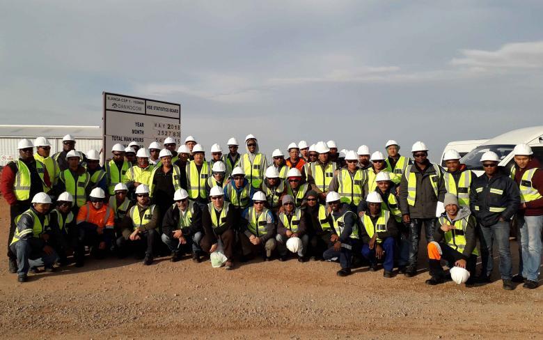 SENER promueve una formación en energías renovables para profesionales locales en la planta solar Ilanga CSP1 en Sudáfrica
