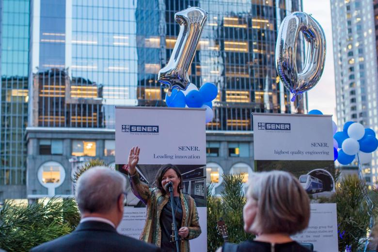 Thank you for attending SENER USA´s 10th anniversary reception