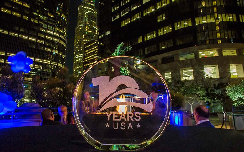 Evento del décimo aniversario de SENER USA