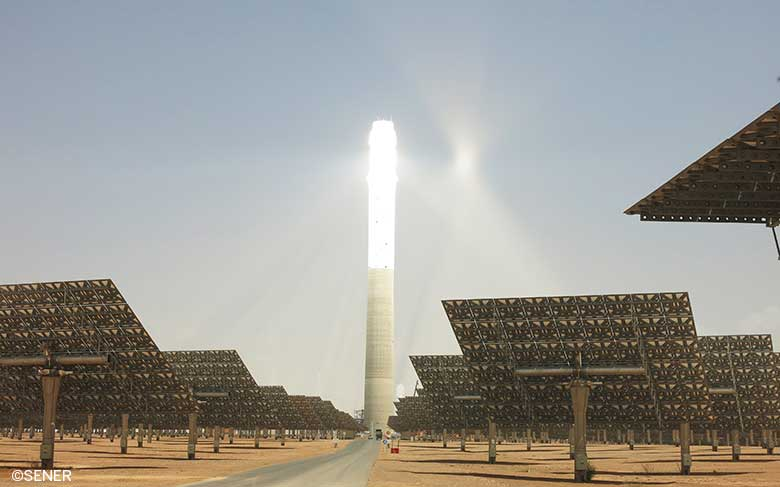The Noor Ouarzazate III central receiver solar plant with storage completes its reliability test
