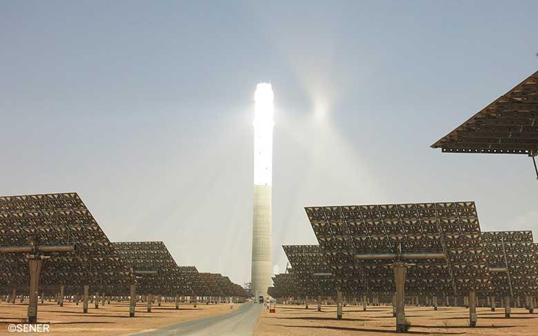 The Noor Ouarzazate III central receiver solar plant with storage completes its reliability testAchèvement des tests de fiabilité de la centrale solaire Noor Ouarzazate III