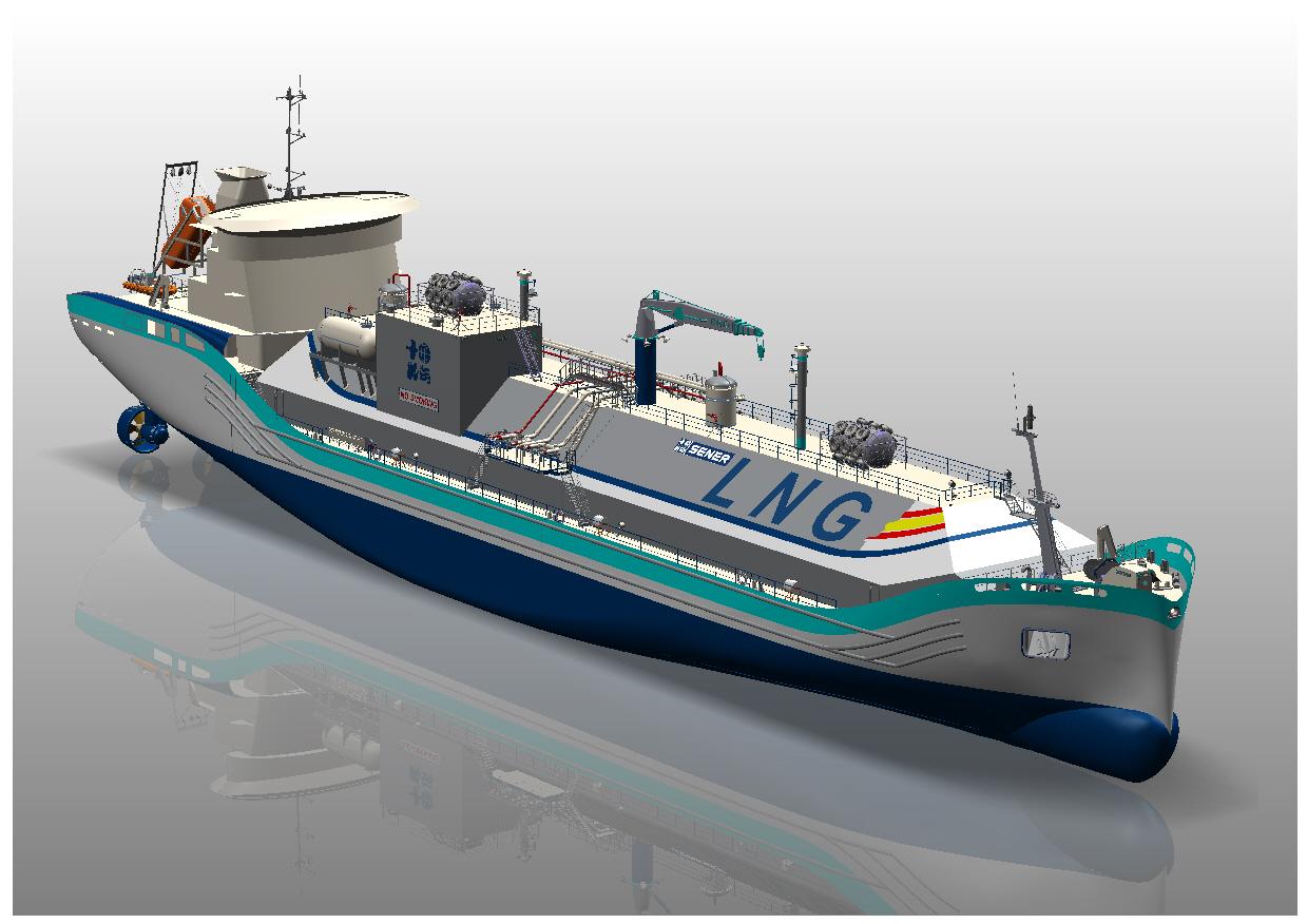 Newsletter - SENER presents advanced floating LNG solutions at Gastech 2018