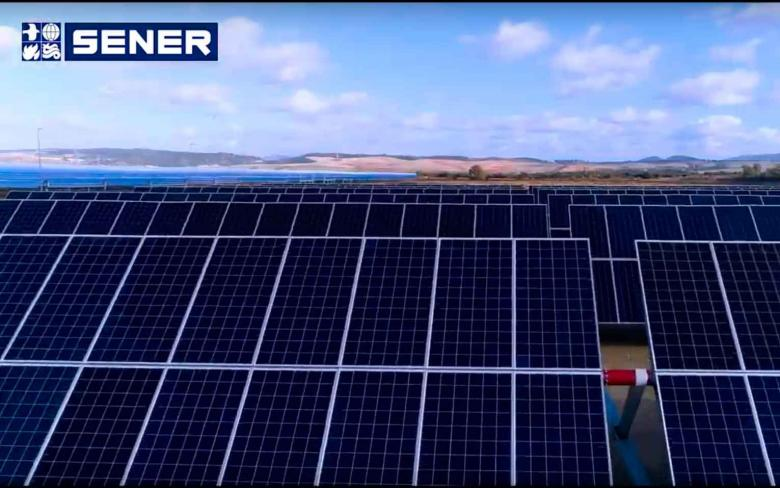 SENER PV solar trackers for photovoltaic plants