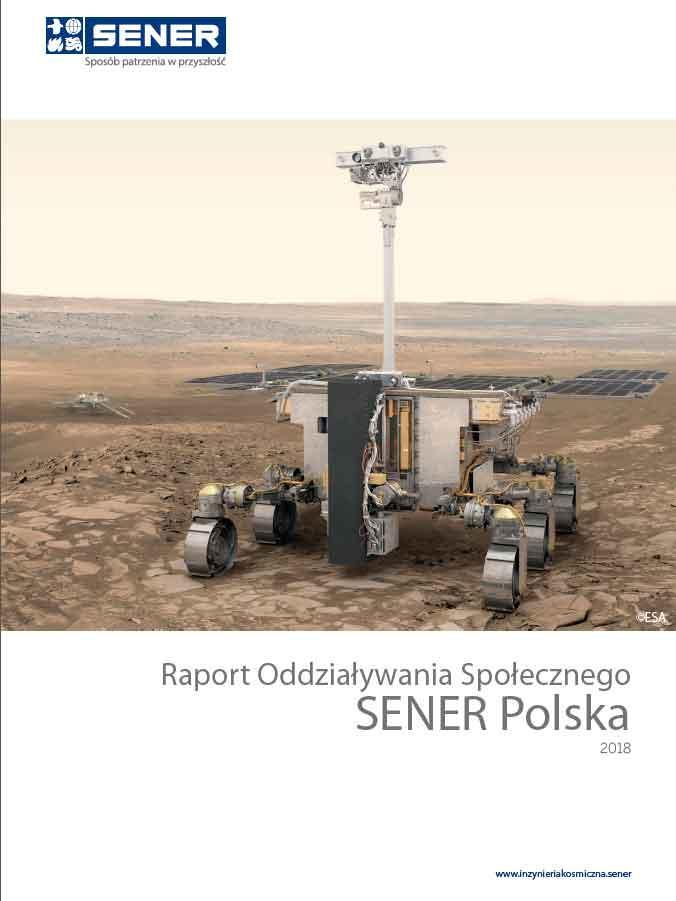 Raport oddziaływania społecznego SENER Polska 2018