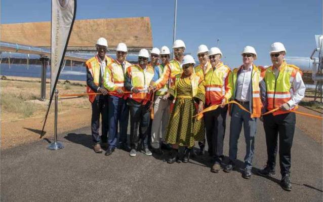 Inauguración de la planta termosolar Kathu (Sudáfrica) 3
