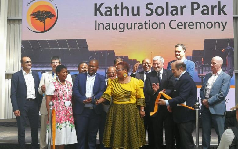 Inauguración de la planta termosolar Kathu (Sudáfrica)