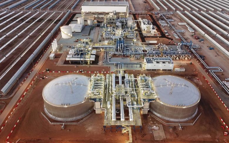 Inauguración de la planta termosolar Kathu (Sudáfrica) 8