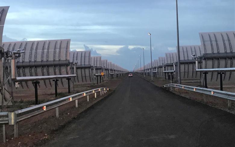 Inauguración de la planta termosolar Kathu (Sudáfrica) 5