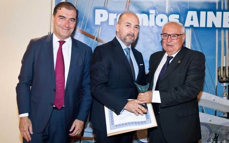 SENER recibe el premio a la mejor empresa relacionada con la Profesión 2018 de la Asociación de Ingenieros Navales de España