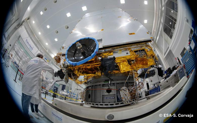 SENER Aeroespacial successfully delivers the AOCS of the Euclid satellite