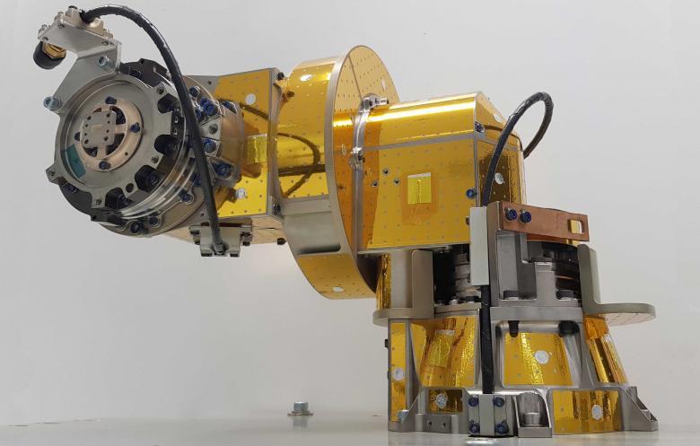 SENER Aeroespacial entrega exitosamente el modelo de vuelo del mecanismo de despliegue y apunte de antena (ADPM) de Euclid