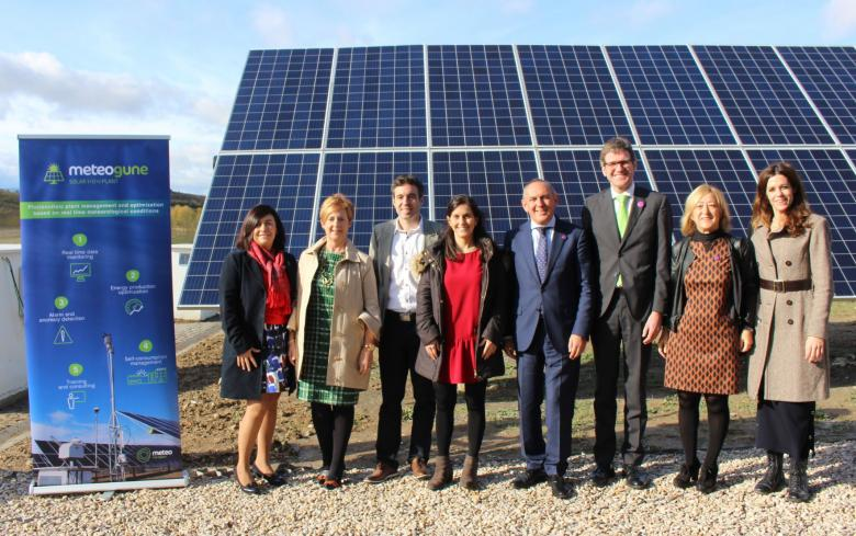 SENER installs its first photovoltaic trackers in Meteogune, the first experimental photovoltaic plant conceived for R&D&i within the scope of renewables