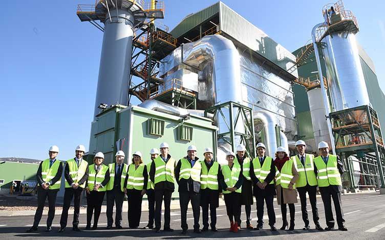Inaugurada la planta de generación con biomasa de Ence en Puertollano, un proyecto de SENER