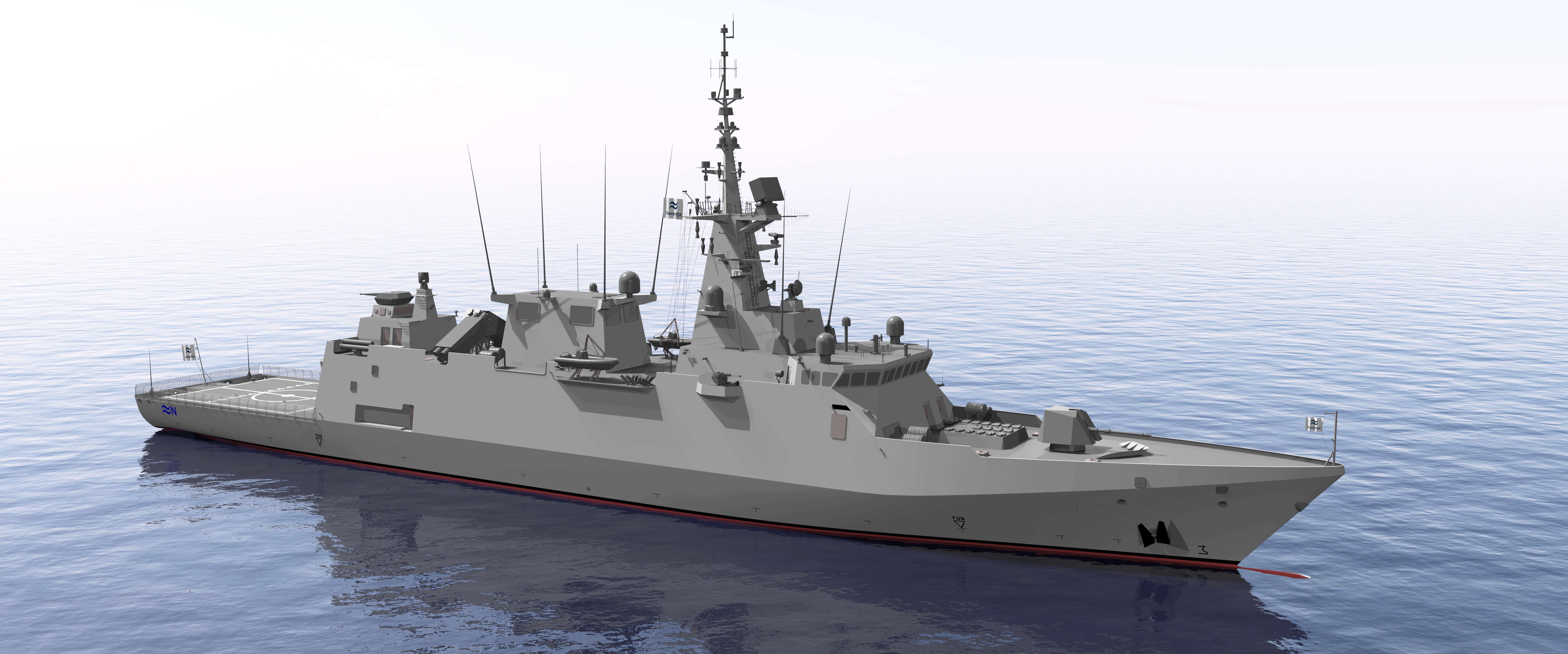 SENER's FORAN System Used for Saudi Arabian Corvettes