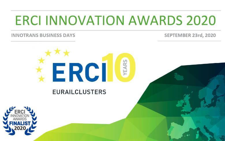 RESPIRA, by SENER Engineering, finalist in the European Railway Clusters Initiative Awards