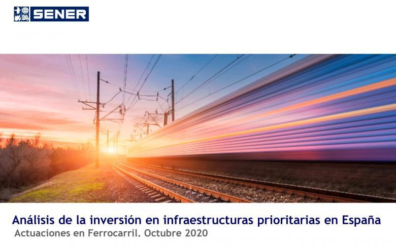 Análisis de la inversión en infraestructuras ferroviarias en España