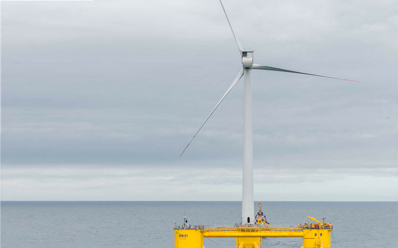 Kincardine floating offshore windfarm project