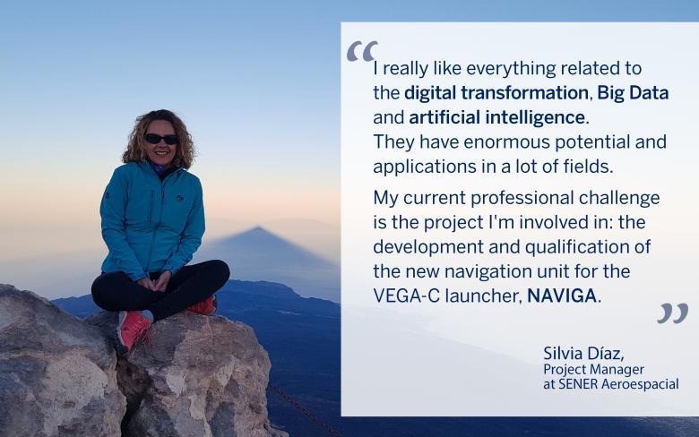 Silvia Diaz, project manager at SENER Aerospace