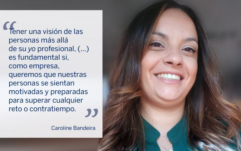 Caroline Bandeira, gerente comercial en el área de Infraestruturas en SENER en Brasil