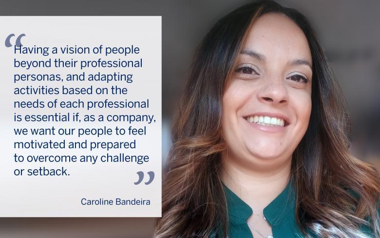 Caroline Bandeira, Commercial Manager of the infrastructure department at SENER in Brazil