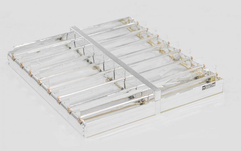 SENER Aeroespacial thermal louvers 160 blades