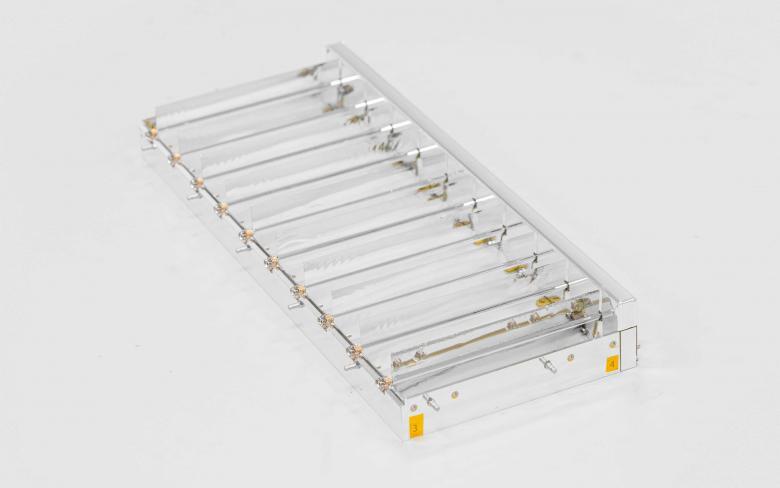 SENER Aeroespacial thermal louvers 10 blades