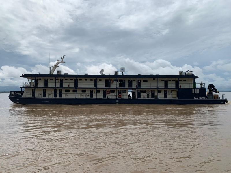 First trip of the Rio Yavarí PIAS