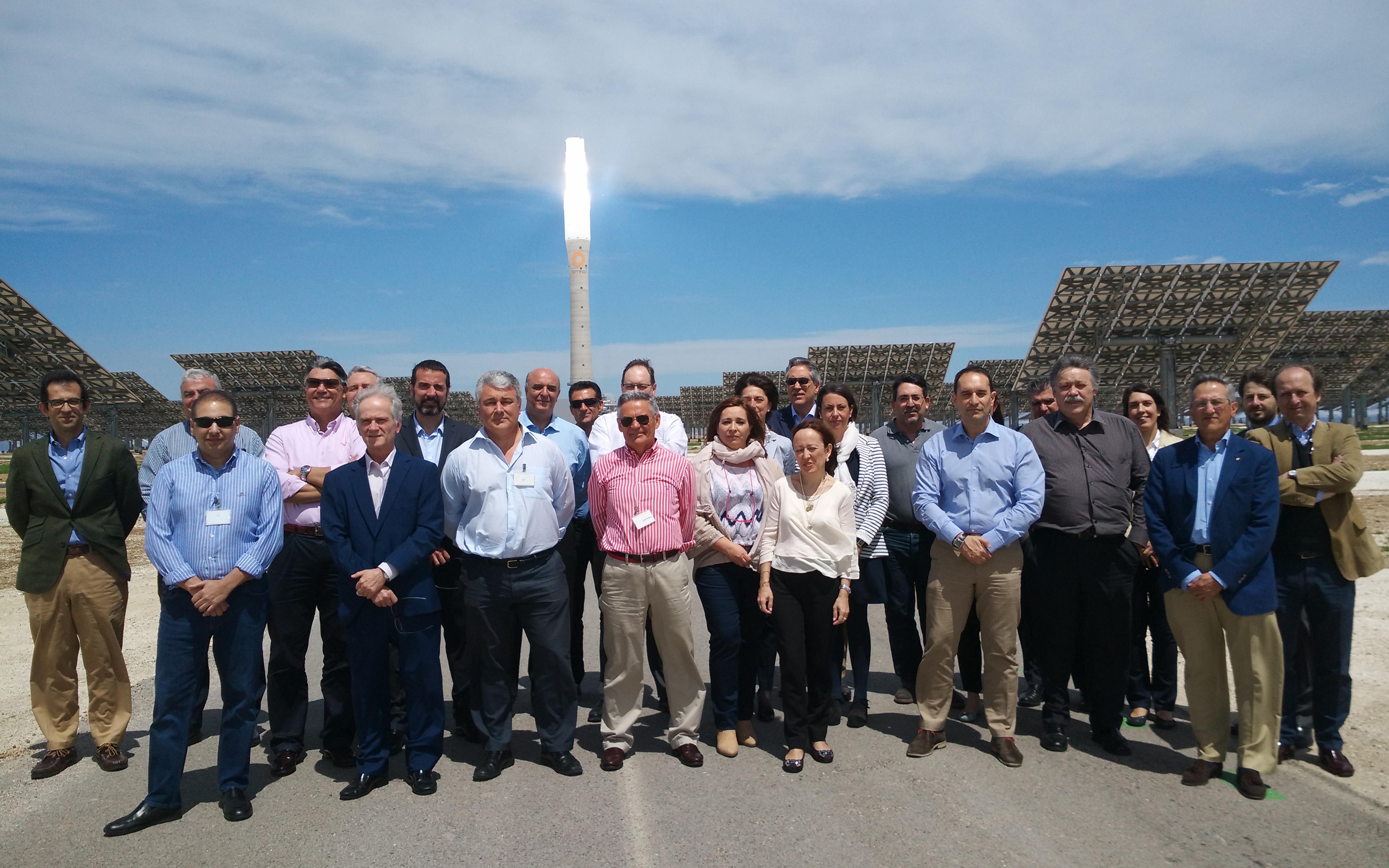 SENER organiza en Gemasolar la reunión anual de la Oficina Nacional de Seguridad