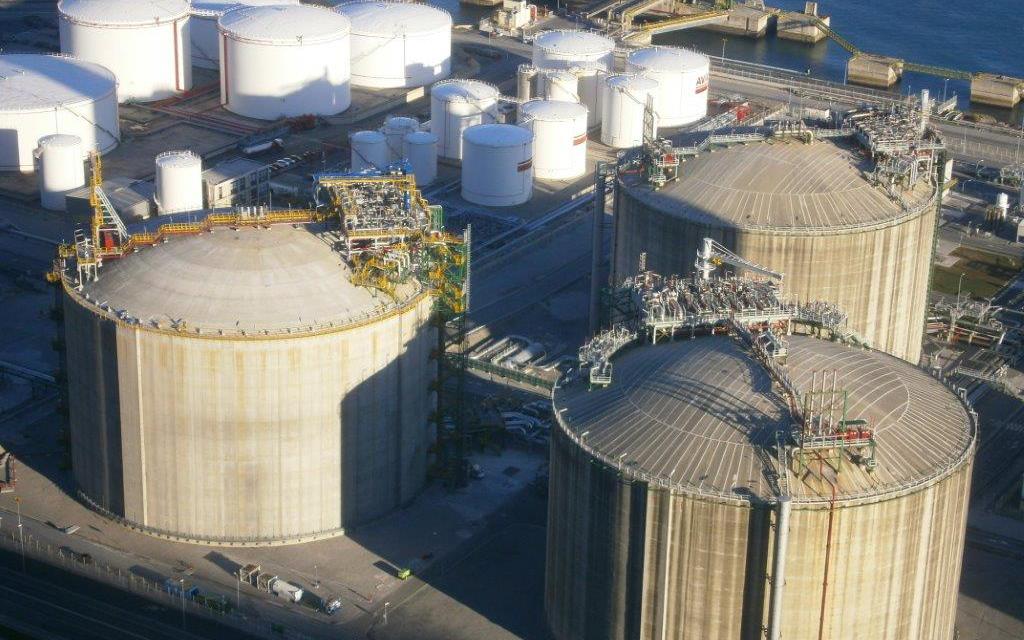 Extension to the BBG regassing plant