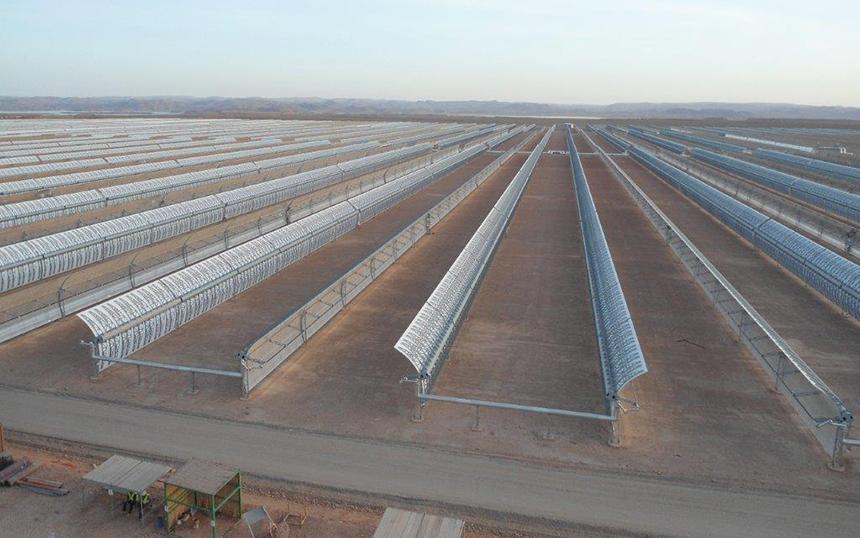 Construction work starts on the NOORo solar complex