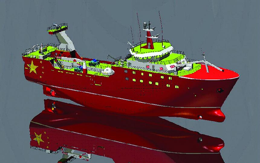 First marine engineering contract in China