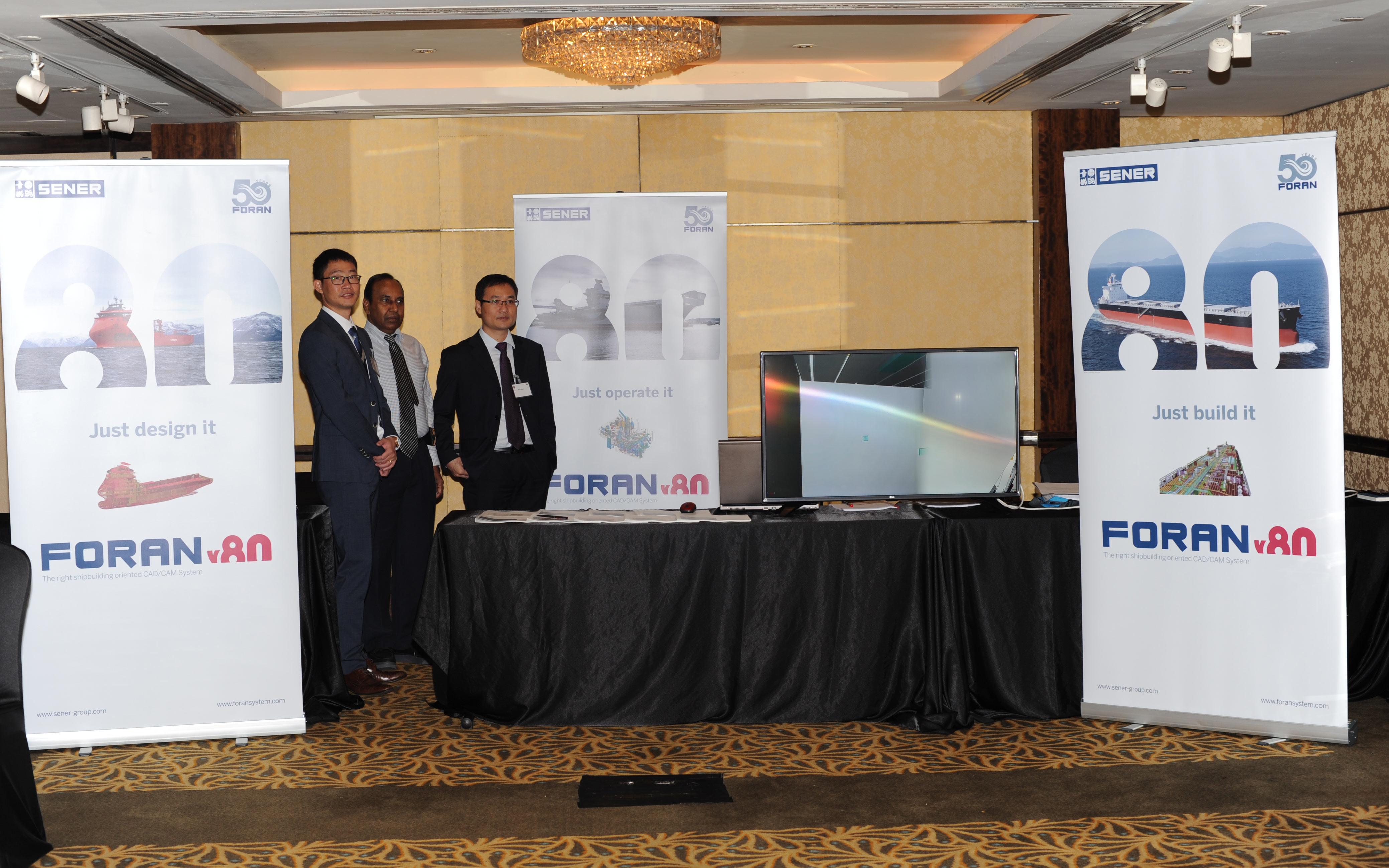 SENER presentará las novedades de FORAN en ICCAS 2017